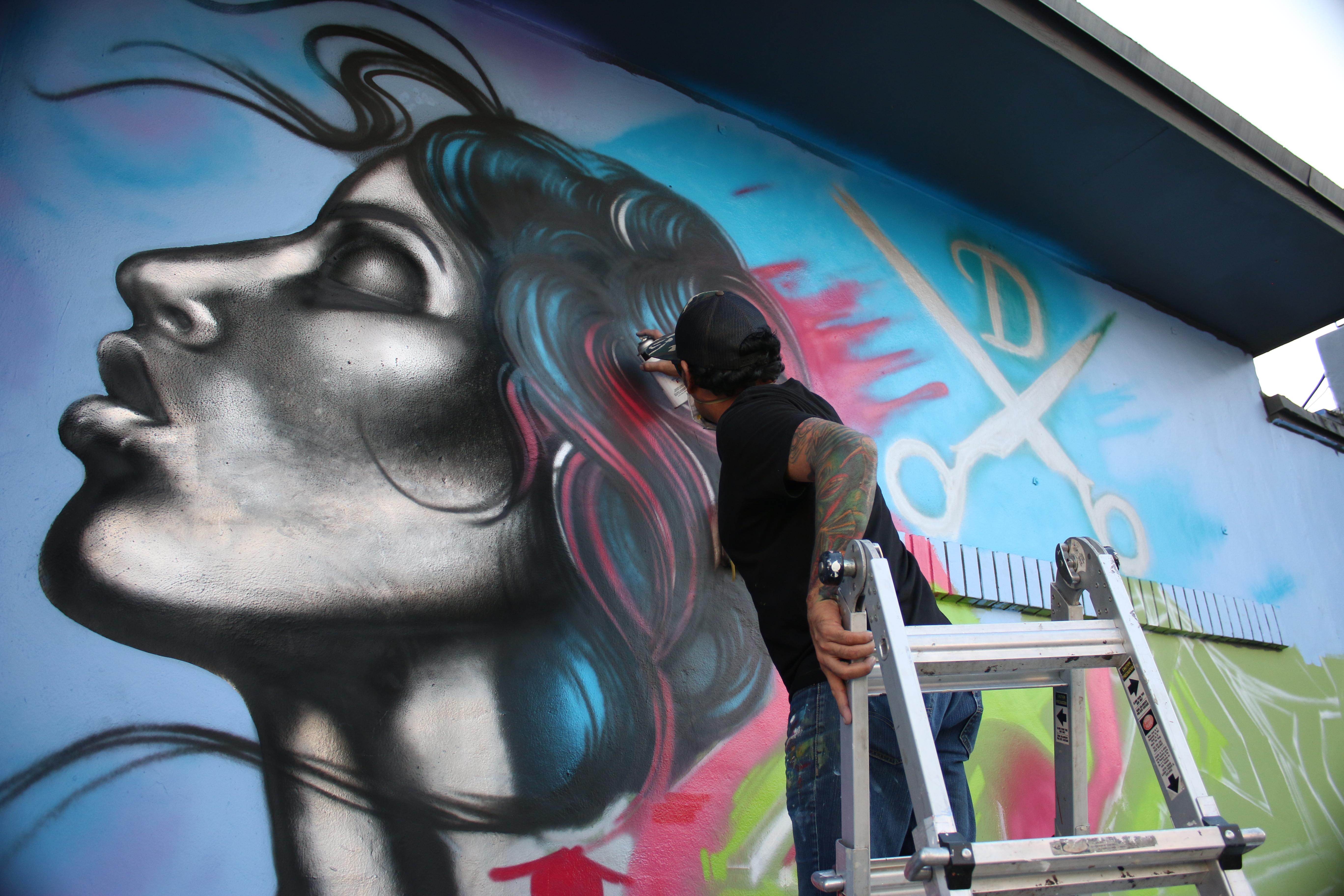 Outdoor Graffiti Wall Mural